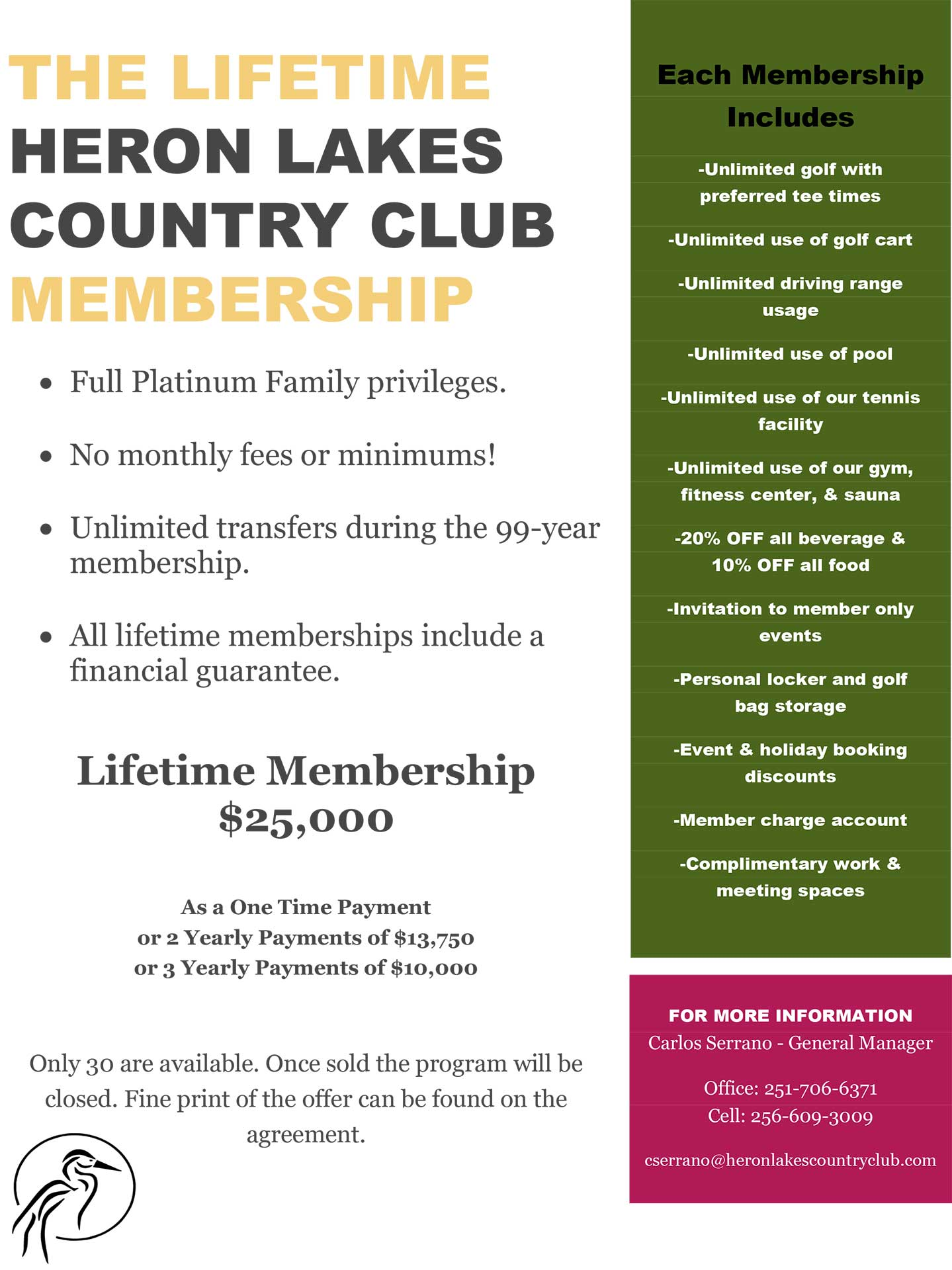 Lifetime-Membership-Flyer
